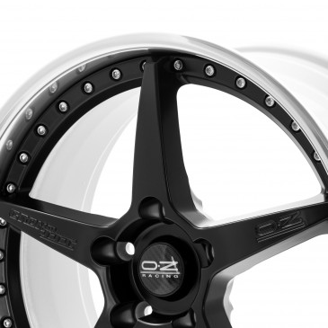 OZ RACING CRONO III MATT BLACK