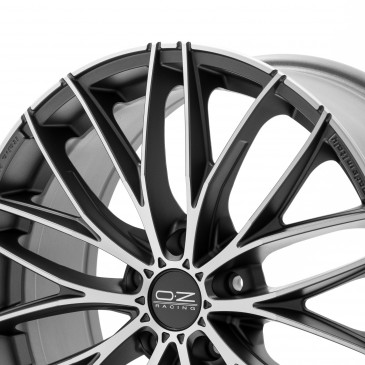 OZ RACING ITALIA 150 MATT DARK GRAPHITE POLIERT