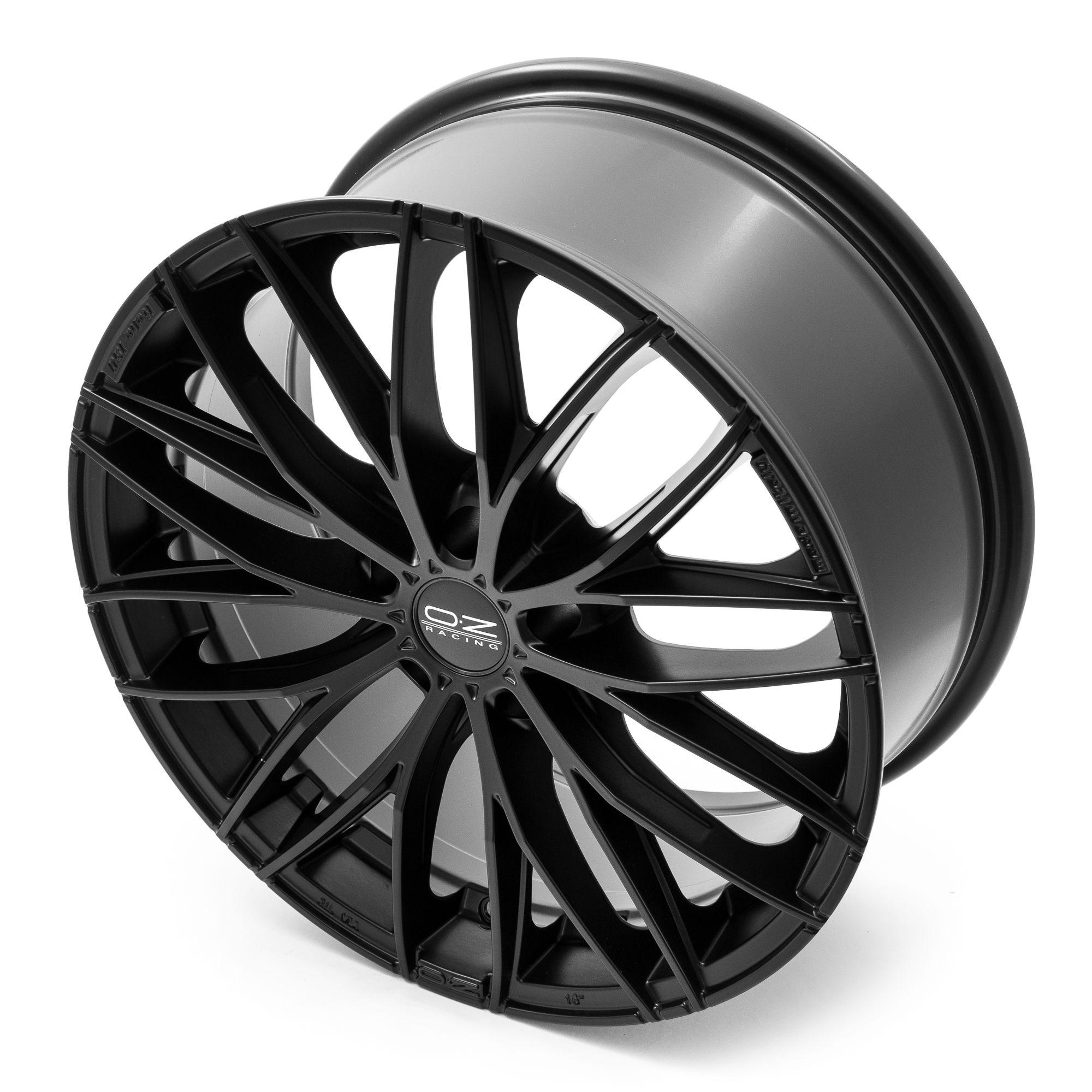 oz racing italia 150 felgen matt black in 18 zoll. Black Bedroom Furniture Sets. Home Design Ideas