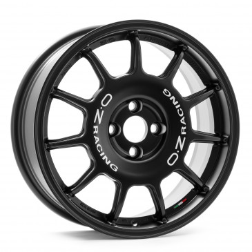 OZ RACING LEGGENDA MATT BLACK