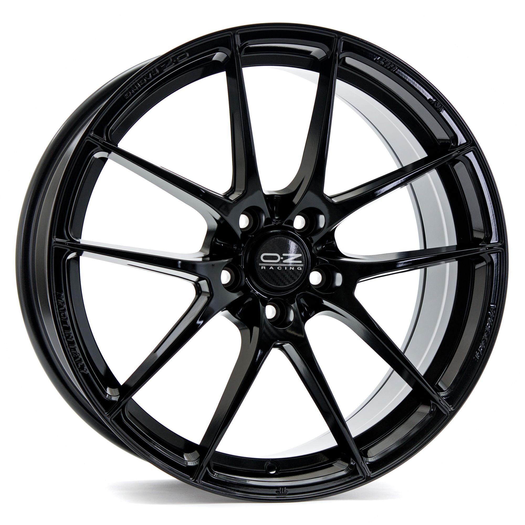 oz racing leggera hlt felgen gloss black in 20 zoll. Black Bedroom Furniture Sets. Home Design Ideas