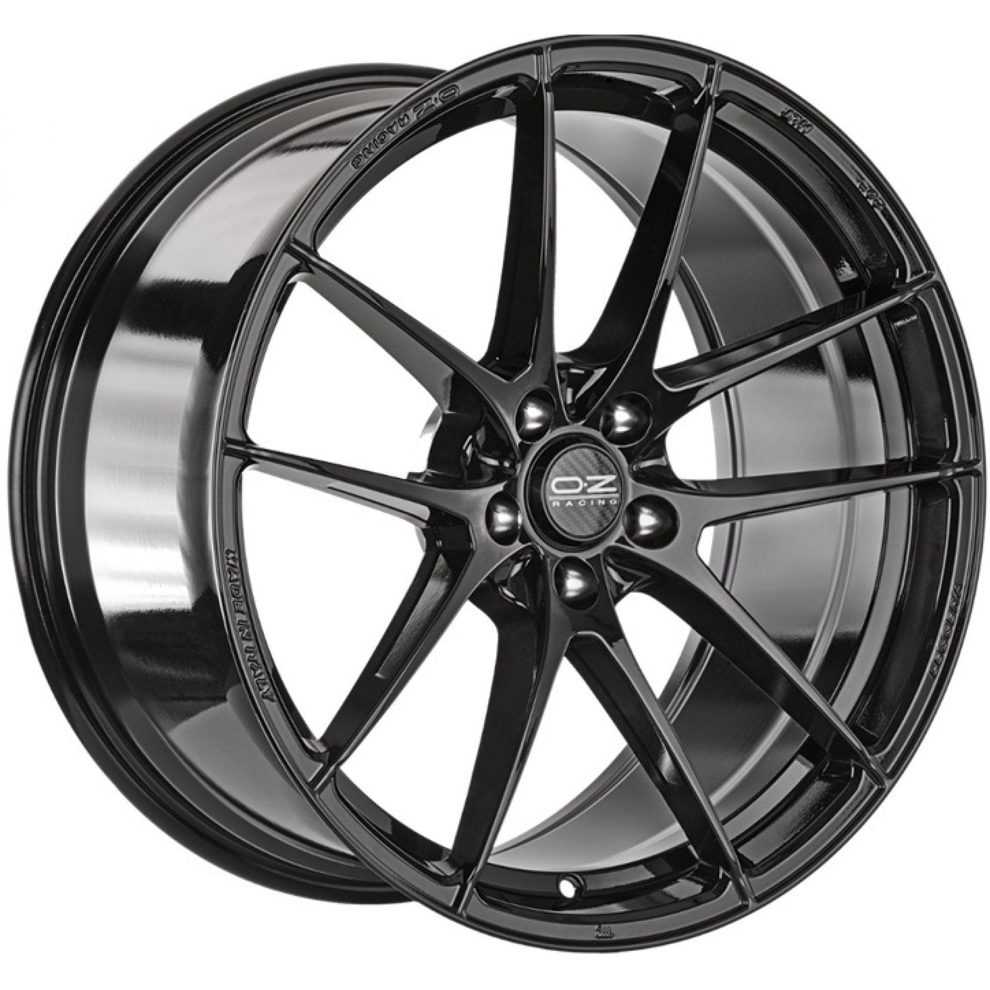 oz racing leggera hlt felgen gloss black in 18 zoll. Black Bedroom Furniture Sets. Home Design Ideas