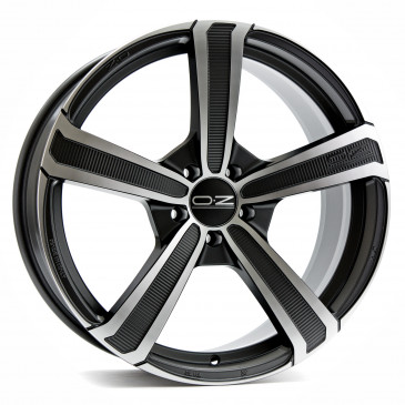 OZ RACING MONTECARLO HLT MATT DARK GRAPHITE POLIERT
