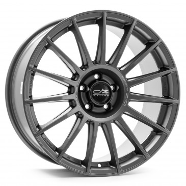 OZ RACING SUPERTURISMO DAKAR MATT GRAPHITE + SILVER LETTERING