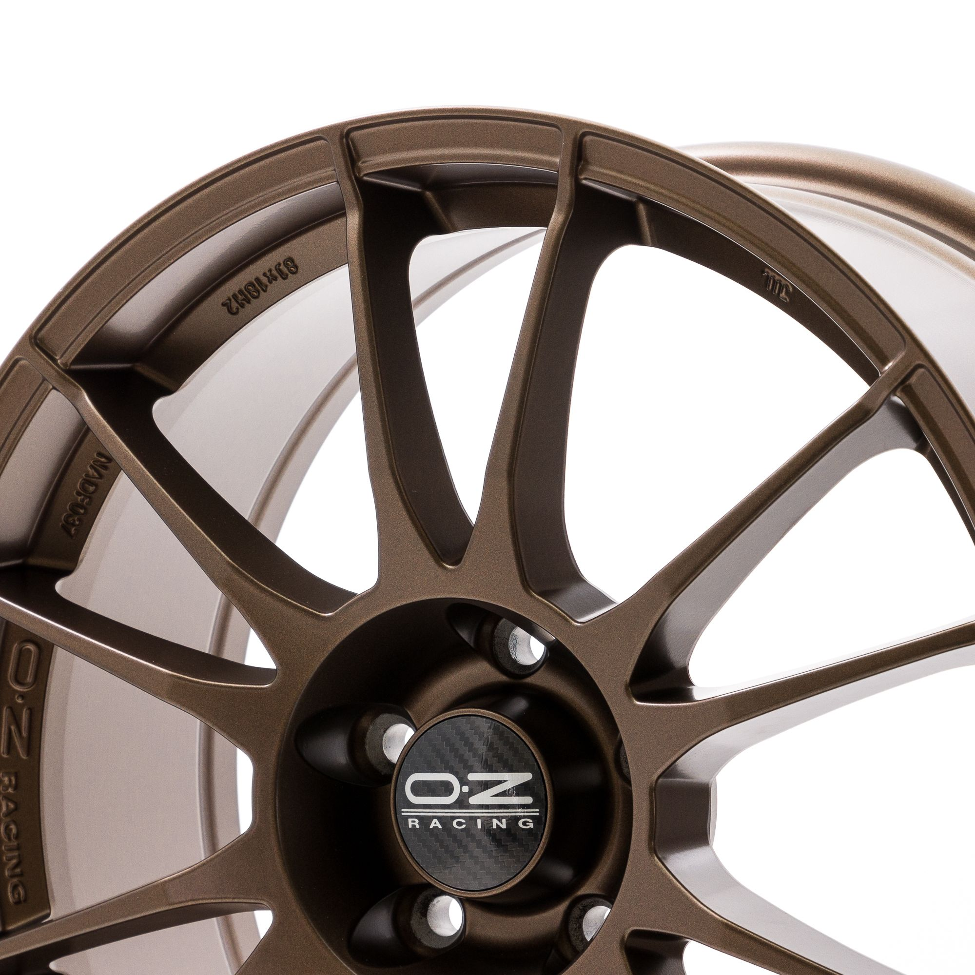 oz racing ultraleggera felgen matt bronze in 18 zoll. Black Bedroom Furniture Sets. Home Design Ideas