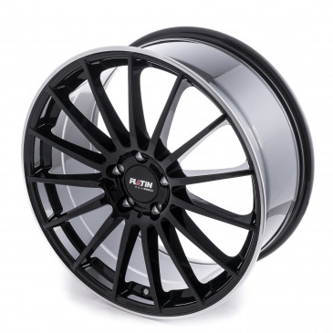 Platin Wheels P 75 BLACK LIP POLISHED