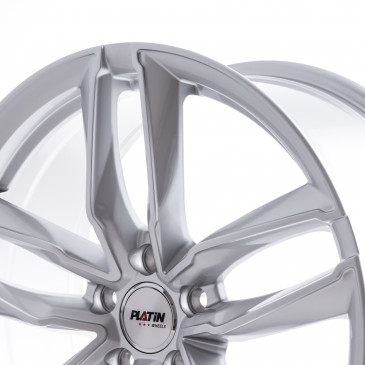 Platin Wheels P 76 SILVER PAINTED