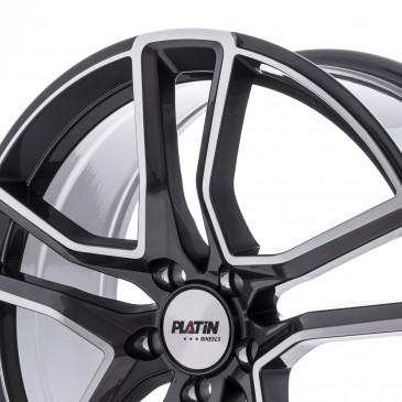 Platin Wheels P 79 GREY POLISHED