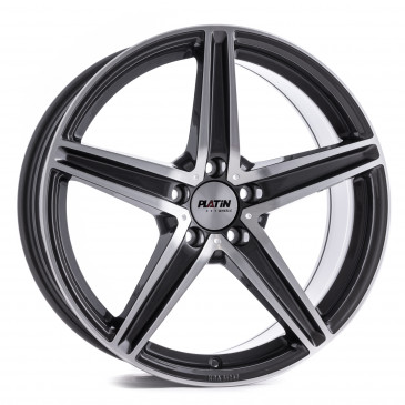 Platin Wheels P 85 GREY POLISHED