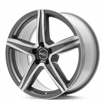 ProLine Wheels CX200 Grey Polished