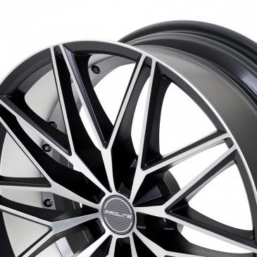 ProLine Wheels PXE Black Matt Polished