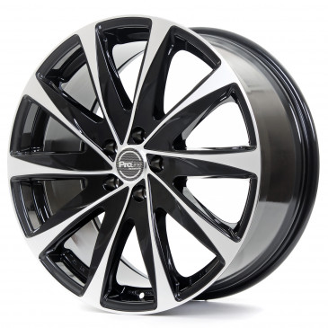 ProLine Wheels PXG black polished