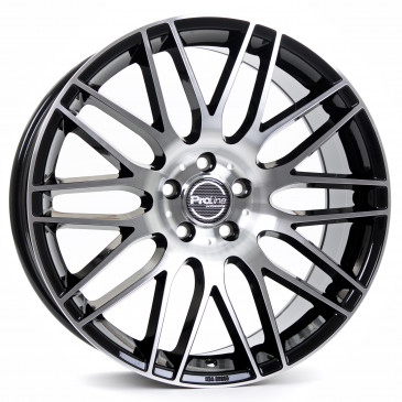 ProLine Wheels PXK black polished