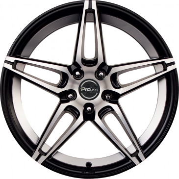 ProLine Wheels PXN black matt polished