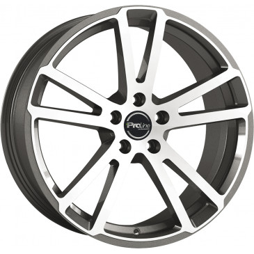 ProLine Wheels PXR Gun Metal brushed
