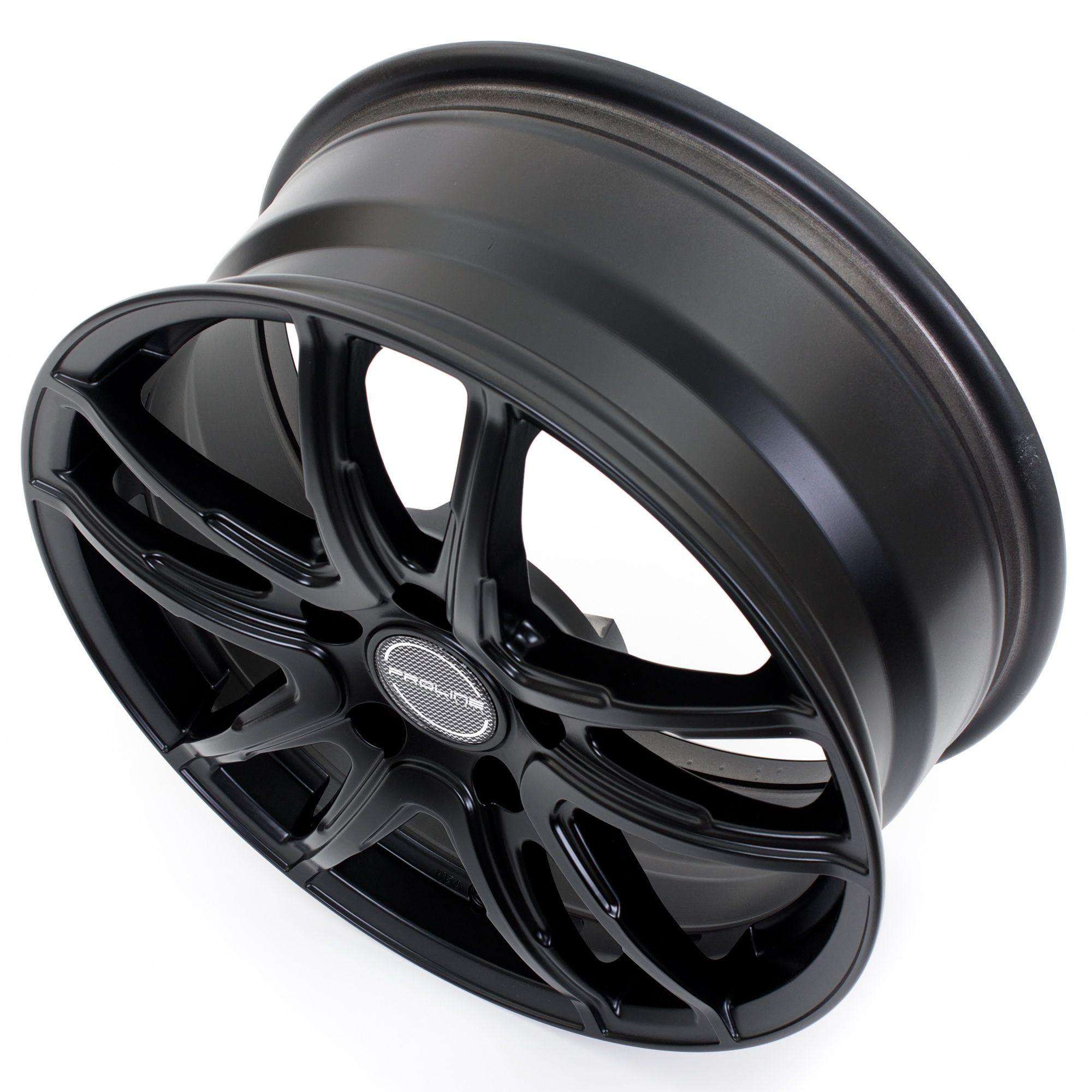 proline wheels vx100 felgen black matt in 14 zoll. Black Bedroom Furniture Sets. Home Design Ideas