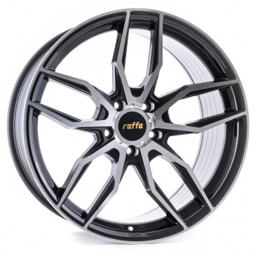 Raffa Wheels RS-04 Black-Polish