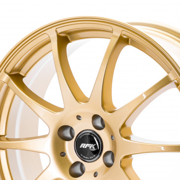 RFK Wheels SLS401 SATIN GOLD