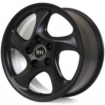RH ALURAD AH Turbo racing schwarz matt