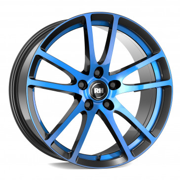 RH ALURAD BO Flowforming color polished - blue