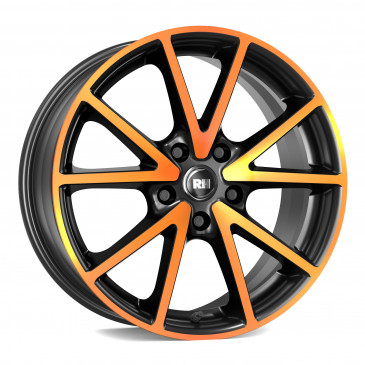 RH ALURAD DE Sports color polished - orange