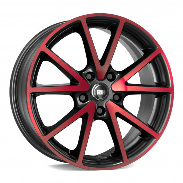RH ALURAD DE Sports color polished - red