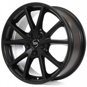 RH ALURAD DE Sports racing schwarz matt