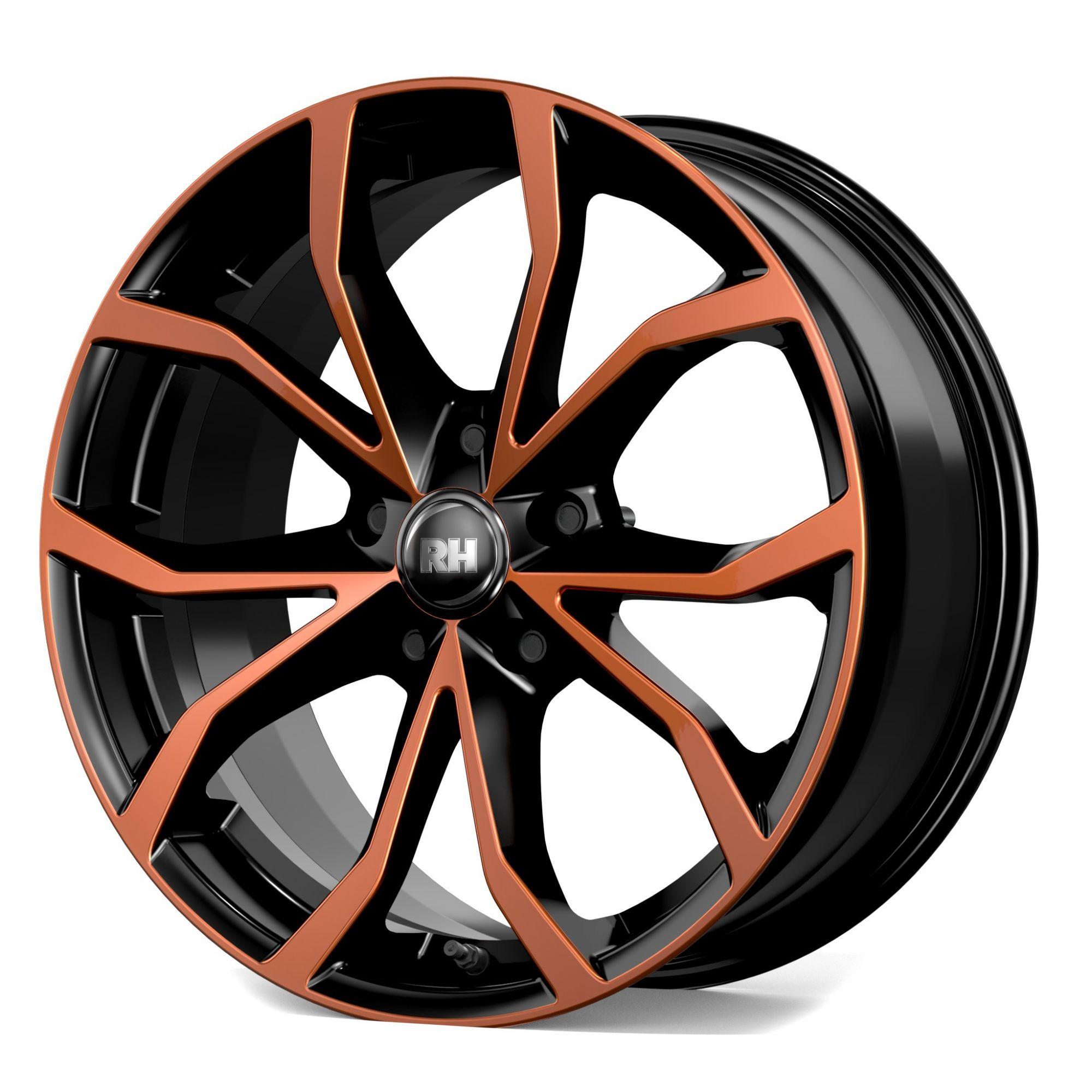 rh alurad df energy felgen color polished orange. Black Bedroom Furniture Sets. Home Design Ideas