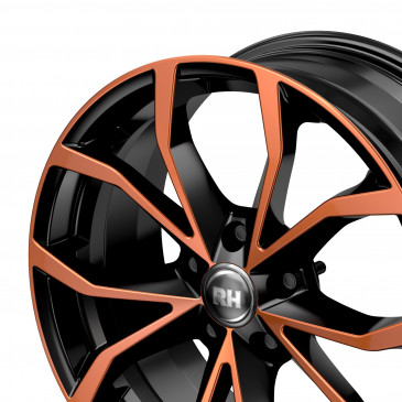 RH ALURAD DF Energy color polished - orange