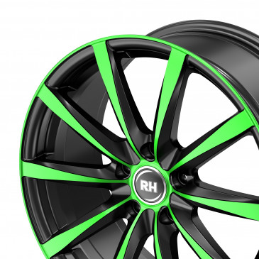 RH ALURAD GT color polished - green
