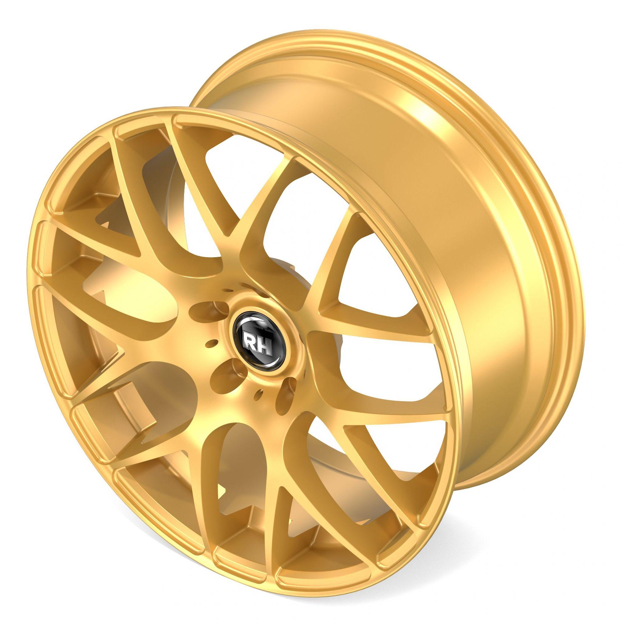 rh alurad nbu race felgen racing gold glanz in 18 zoll. Black Bedroom Furniture Sets. Home Design Ideas