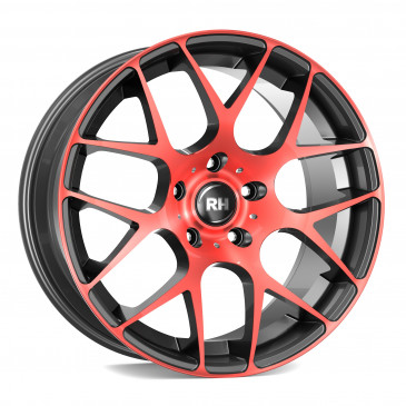 RH ALURAD NBU Race color polished - red