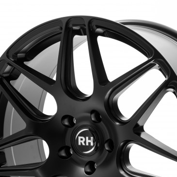 RH ALURAD RB11 racing schwarz matt