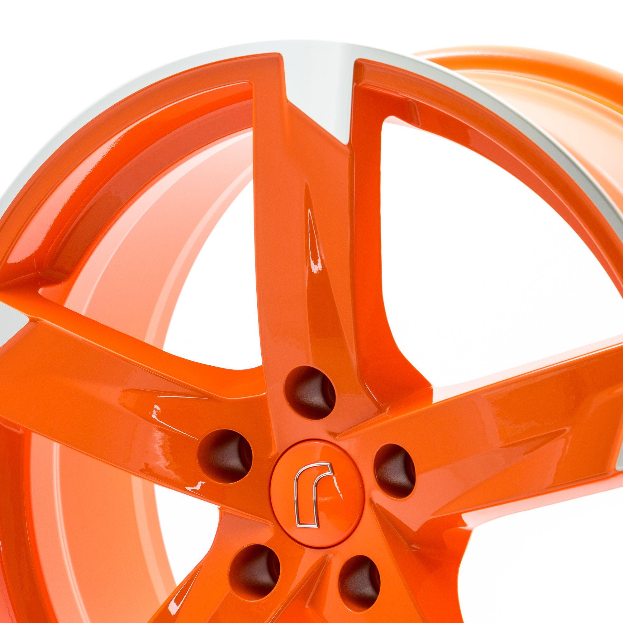 rondell 01rz felgen racing orange poliert mehrfarbig in. Black Bedroom Furniture Sets. Home Design Ideas