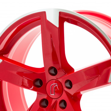 RONDELL 01RZ Racing-Rot poliert