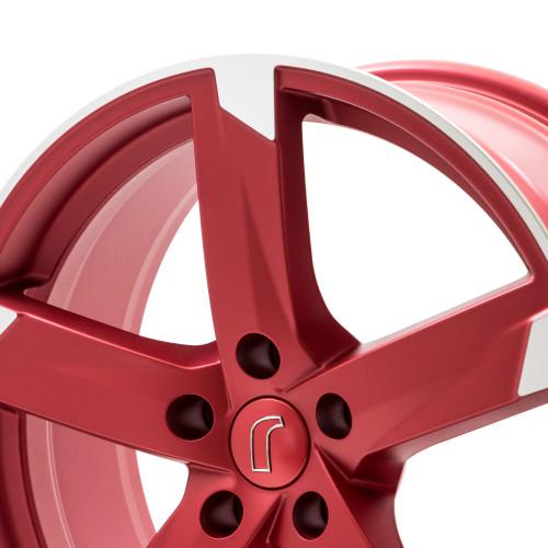 rondell 01rz felgen metallic rot matt poliert mehrfarbig. Black Bedroom Furniture Sets. Home Design Ideas