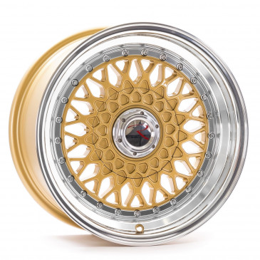RStyle Wheels RS01 gold horn polished