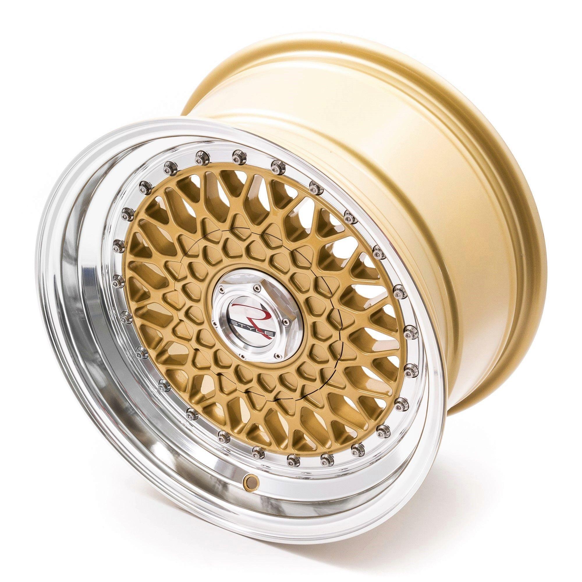 rstyle wheels rs01 felgen gold horn polished in 16 zoll. Black Bedroom Furniture Sets. Home Design Ideas