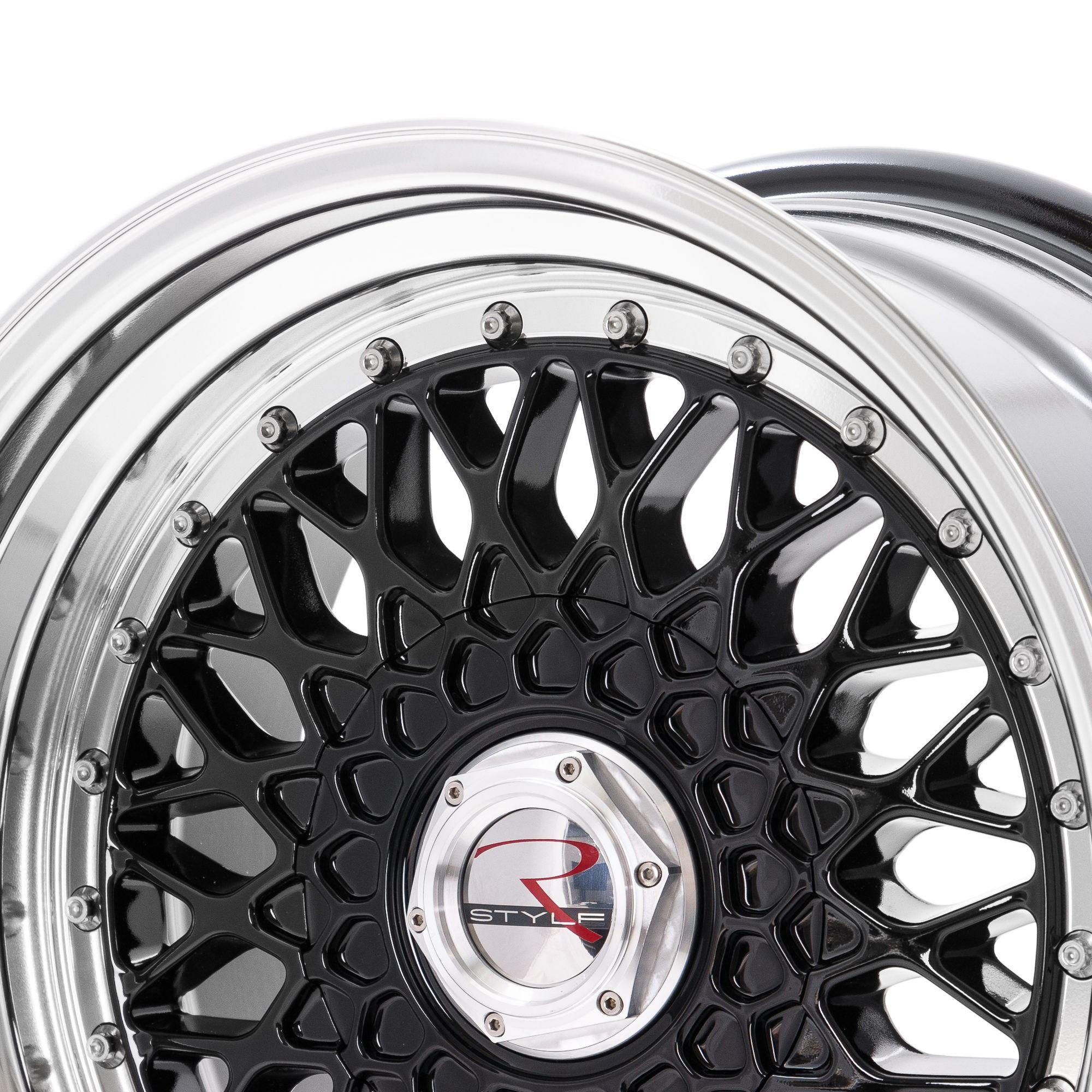 rstyle wheels rs01 felgen black horn polished schwarz. Black Bedroom Furniture Sets. Home Design Ideas