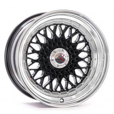 RStyle Wheels RS01 black horn polished