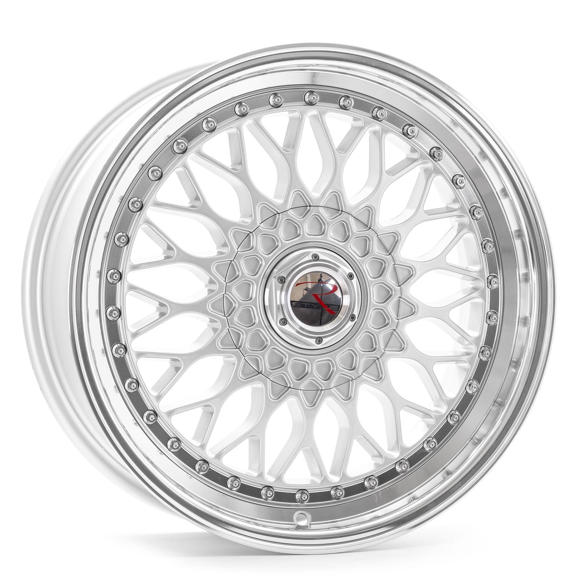 rstyle wheels rs01 felgen silver horn polished silber. Black Bedroom Furniture Sets. Home Design Ideas