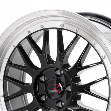 RStyle Wheels RS03 black horn polished