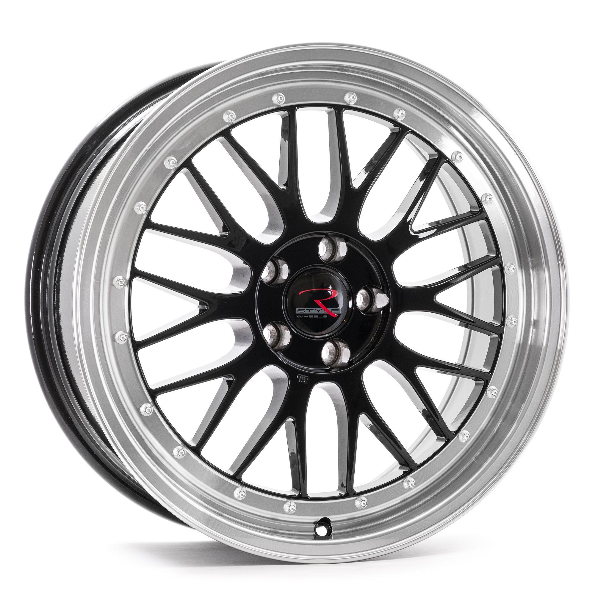 rstyle wheels rs03 felgen black horn polished schwarz. Black Bedroom Furniture Sets. Home Design Ideas