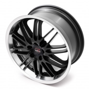 RStyle Wheels SR10 black matt horn polished