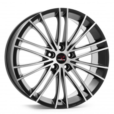 RStyle Wheels SR11 black matt front polished