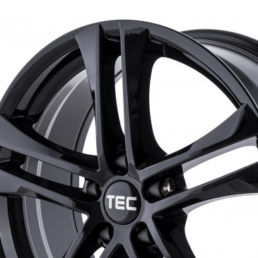 Tec Speedwheels AS4 Schwarz Glanz