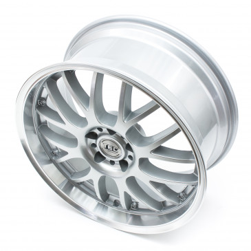 Tec Speedwheels GT-AR1 silver polished lip