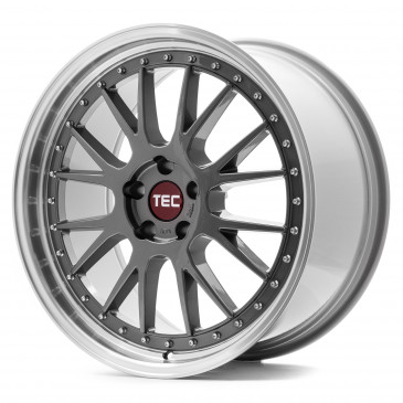 Tec Speedwheels GT EVO titan polished lip