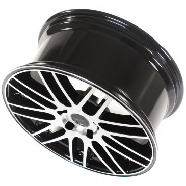 Tec Speedwheels GT1 black polished