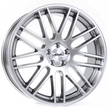 Tec Speedwheels GT1 Brillant Silber